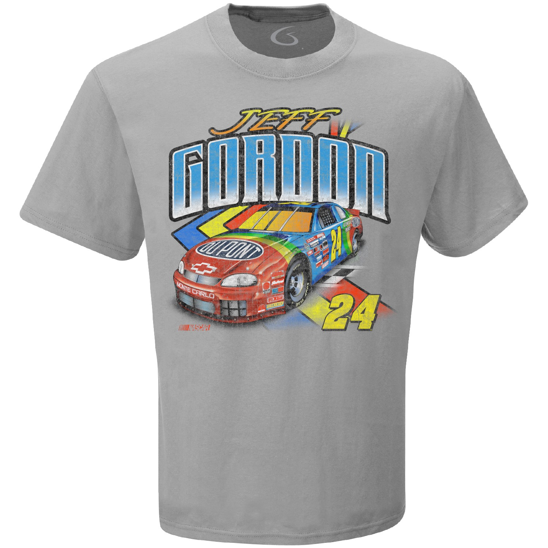 Jeff Gordon Vintage 1995 Rainbow Grey T-Shirt