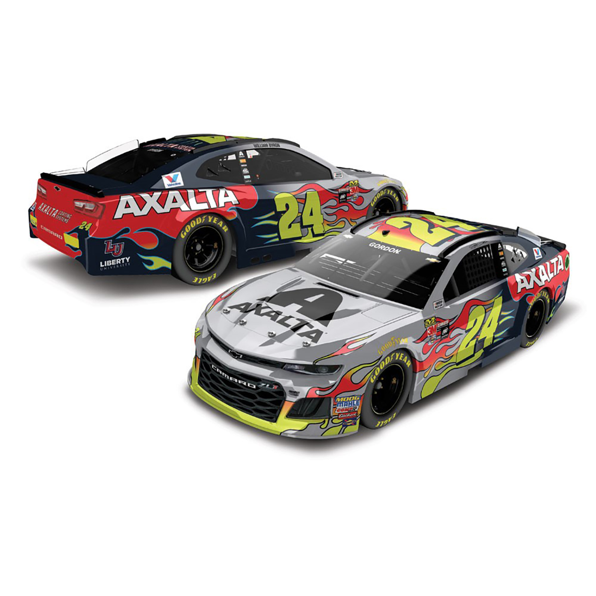 #24Ever Axalta Jeff Gordon/William Byron 1:24 ARC Color Chrome Fantasy Die-Cast
