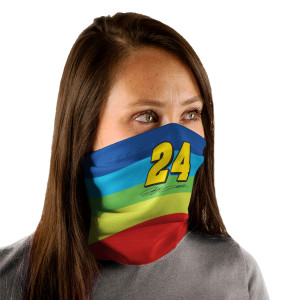 Jeff Gordon Neck Gaiter 3-Pack – Rainbow, Flames & 24Ever
