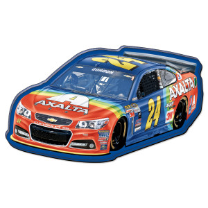 Jeff Gordon #24 Bristol Rainbow Rides Again Magnet