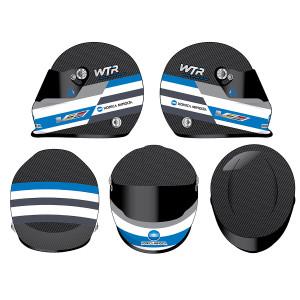 Autographed 2017 Jeff Gordon Wayne Taylor Racing 24 Hours Full Size Replica Helmet