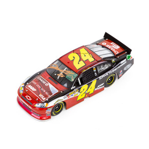 Autographed 2012 Jeff Gordon AARP / DTEH Chase Credit Card 1:24 Scale Die Cast