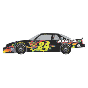 Autographed Jeff Gordon Store Exclusive Axalta Fantasy 1993 Chevrolet Lumina Liquid Color 1:24 Scale ARC Die Cast