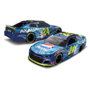 Autographed Jeff Gordon 2020 Pepsi Axalta Throwback iRacing Talladega #24 ARC 1:24 Scale Die Cast