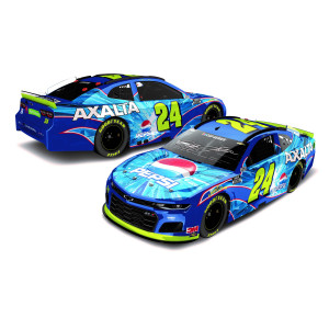 Autographed Jeff Gordon 2020 Pepsi Axalta Throwback iRacing Talladega #24 Liquid Color ARC 1:24 Scale Die Cast