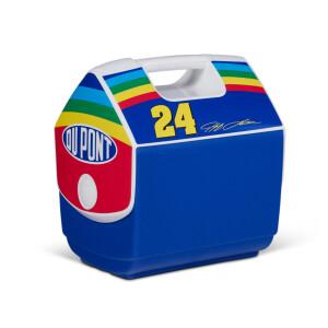 NASCAR® Greats Jeff Gordon #24 Rainbow IGLOO Playmate Pal 7 Qt Cooler