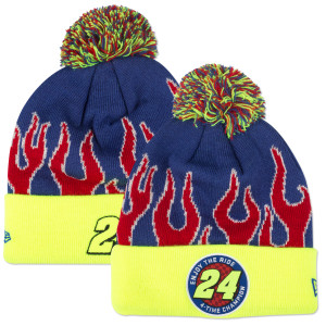 Jeff Gordon #24 New Era Enjoy the Ride Glow in the Dark Knit Beanie