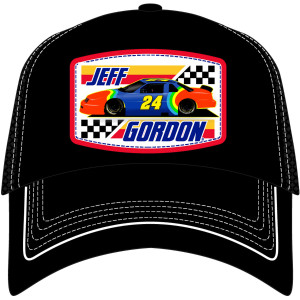 Vintage Jeff Gordon Rainbow #24 Snapback Hat