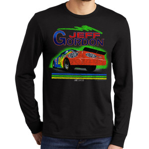 Vintage 1994 Jeff Gordon Rainbow #24 Tri-Blend Long Sleeve Shirt