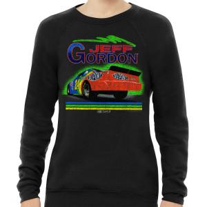 Vintage 1994 Jeff Gordon Rainbow #24 Tri-Blend Crewneck