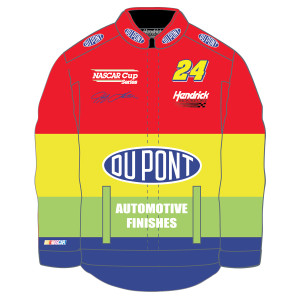 Jeff Gordon Vintage 1996 Rainbow Twill Uniform Jacket