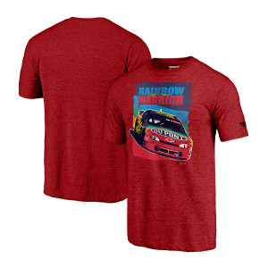 Vintage Jeff Gordon Rainbow Warrior  Tri-Blend T-Shirt