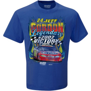 Jeff Gordon 2002 Bristol Win T-Shirt
