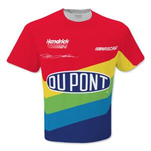 Jeff Gordon Rainbow #24 Total Print Vintage T-Shirt