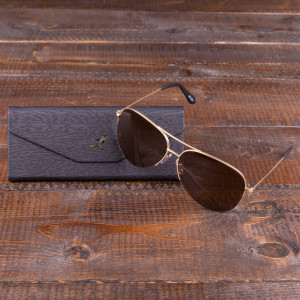 Bruce Lee Aviator Sunglasses w/ case
