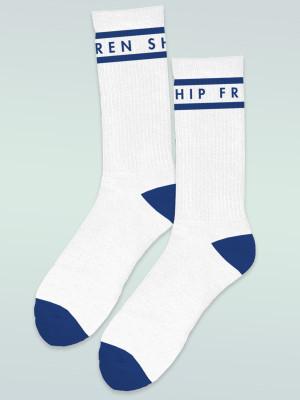 Frenship Crew Socks - White