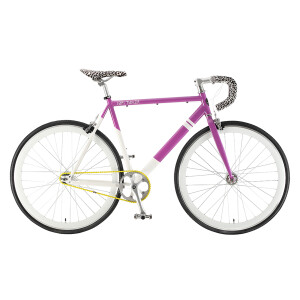 Solé Purple Cheetah Single Speed Bike