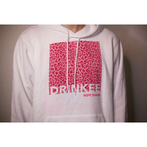 Drinkee Leopard Print Hoodie