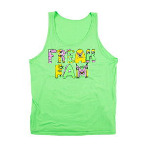 Freak Fam Neon Green Tank