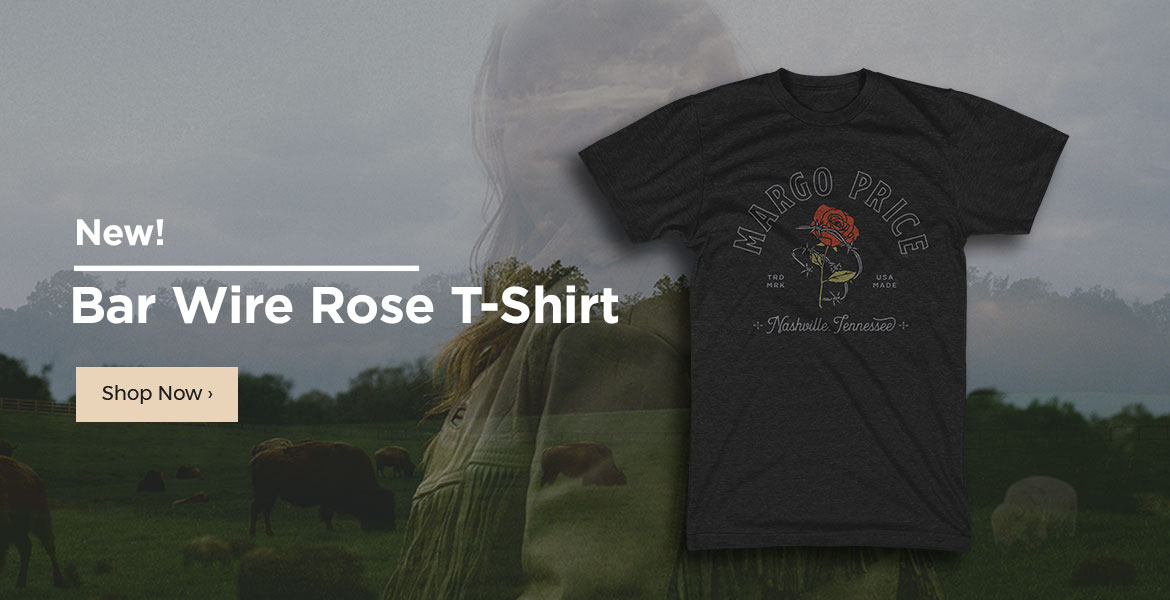 New Barb Wire Rose T-Shirt