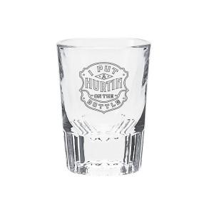 Hurtin' Shot Glass