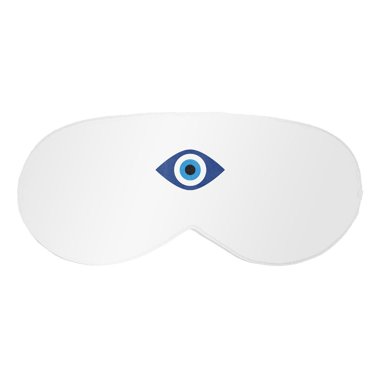 White Witness Satin Eye Mask
