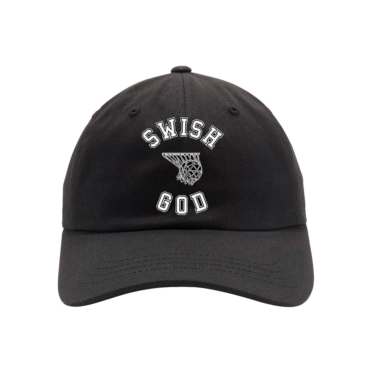 Katy Perry Tour Swish God Black Dad Hat