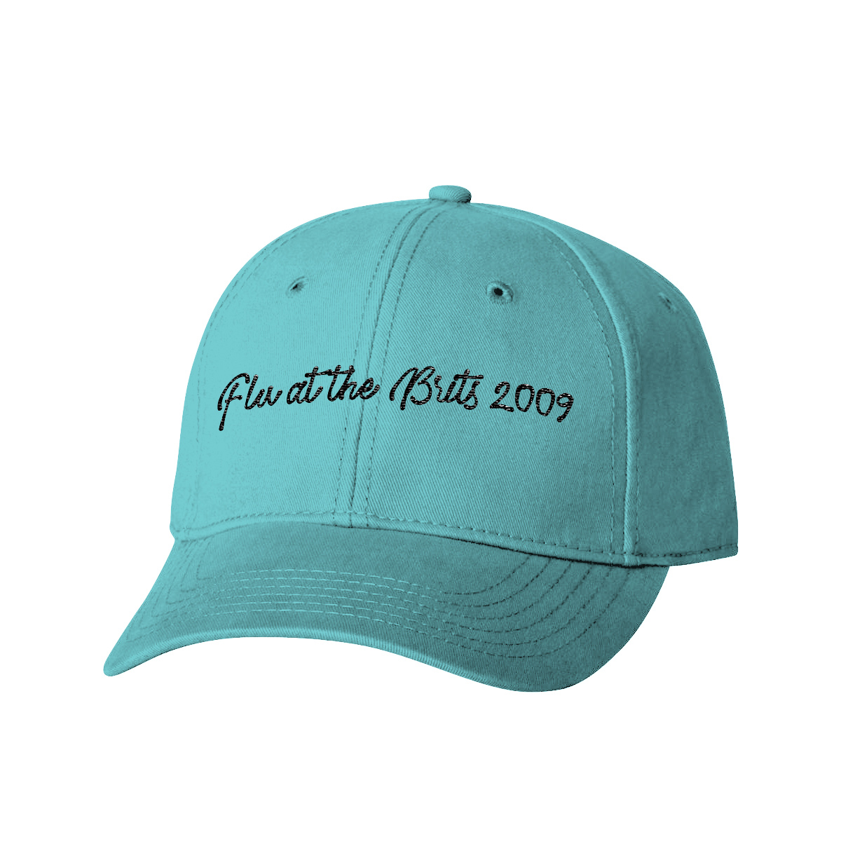 Flu at the Britts 2009 Blue Dad Hat