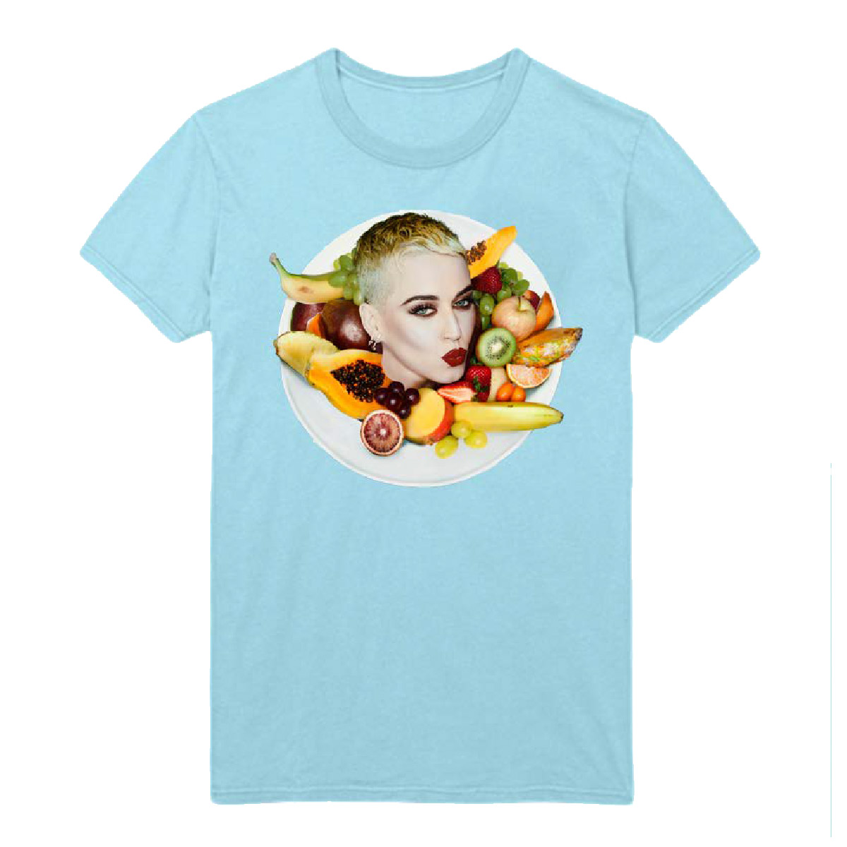 Light Blue Bon Appetit T-Shirt