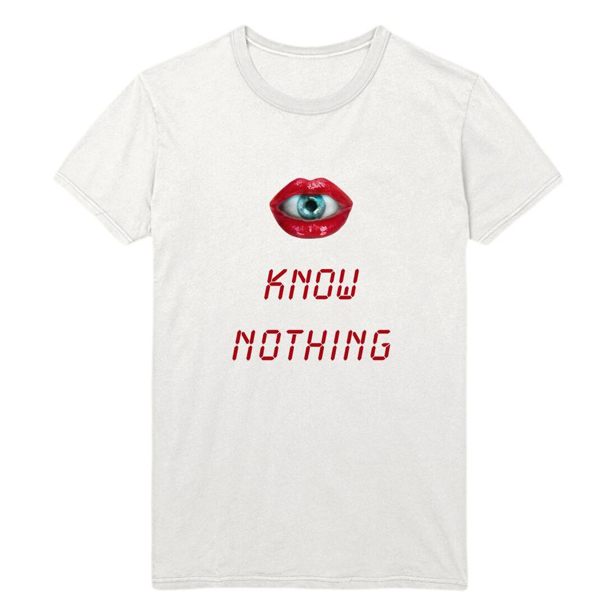 Eye Know Nothing White T-Shirt