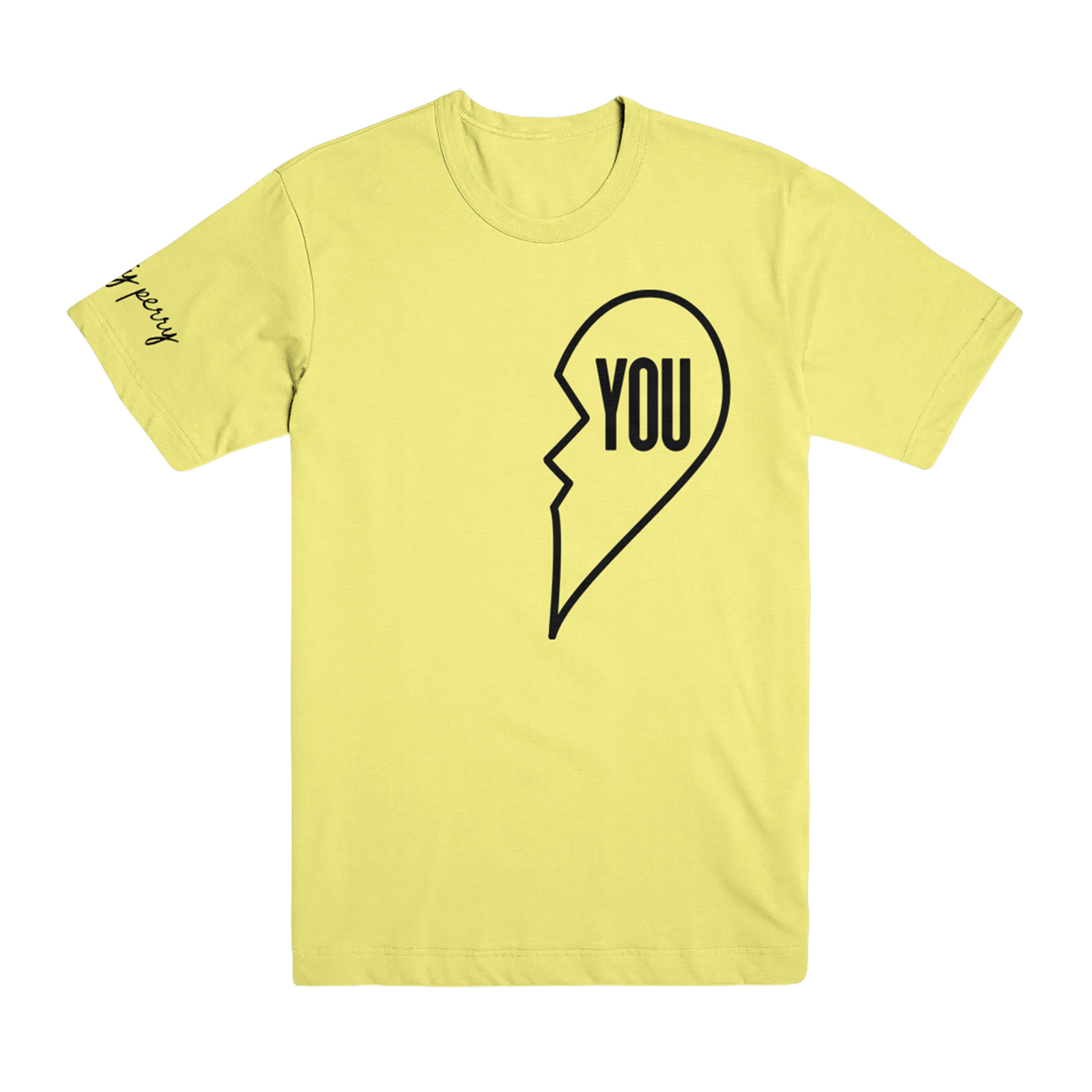 "Miss You Yellow T-Shirt - ""You"""
