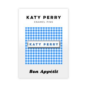 Gingham Katy Perry Enamel Pin