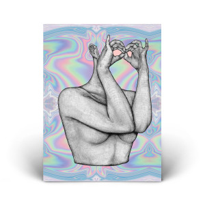 Katy Perry Chained to the Rhythm  Iridescent Lithograph