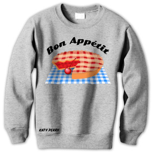 Bon Appetit Grey Sweatshirt