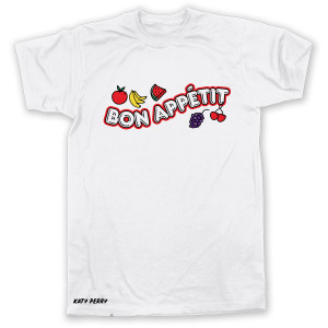 Fruity White Juniors T-shirt