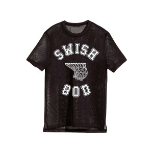 Katy Perry Tour Swish Black Mesh T-shirt