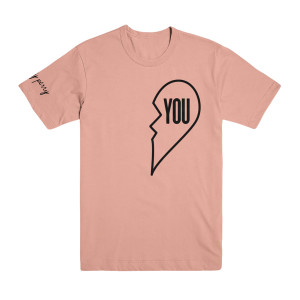 "Miss You Pink T-Shirt - ""You"""