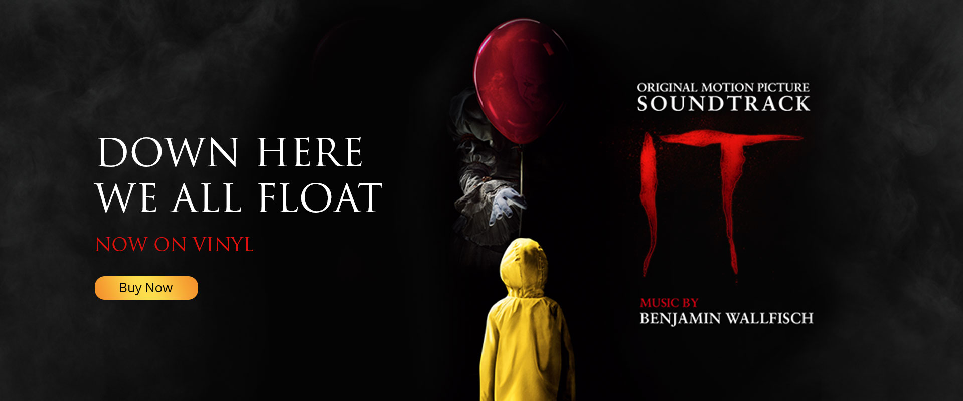 "The ""IT"" Original Motion Picture Soundtrack on Vinyl!"
