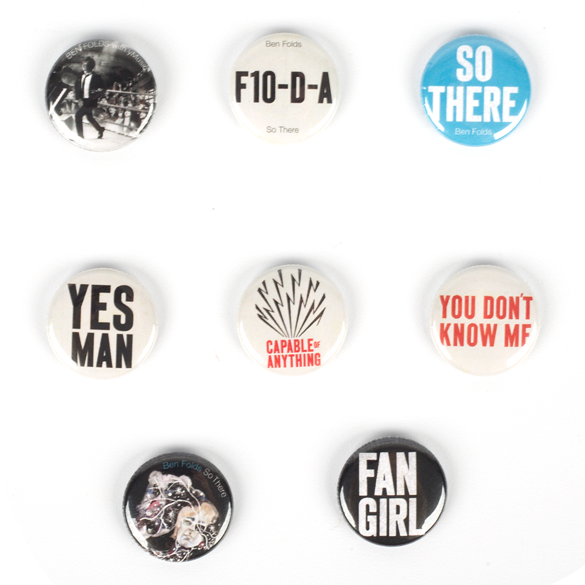 Ben Folds Button Pack