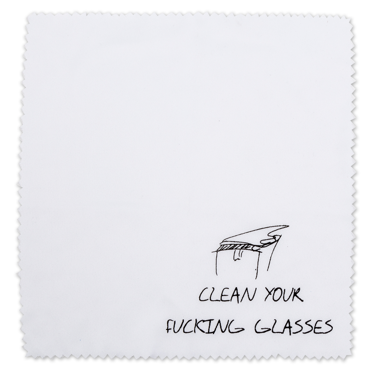 Clean Your F&!$*^$ Glasses Wipes