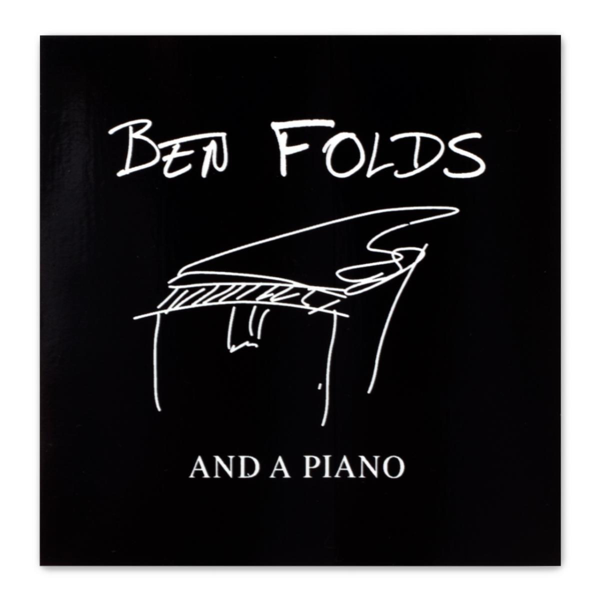 Ben Folds Piano Signature Sticker