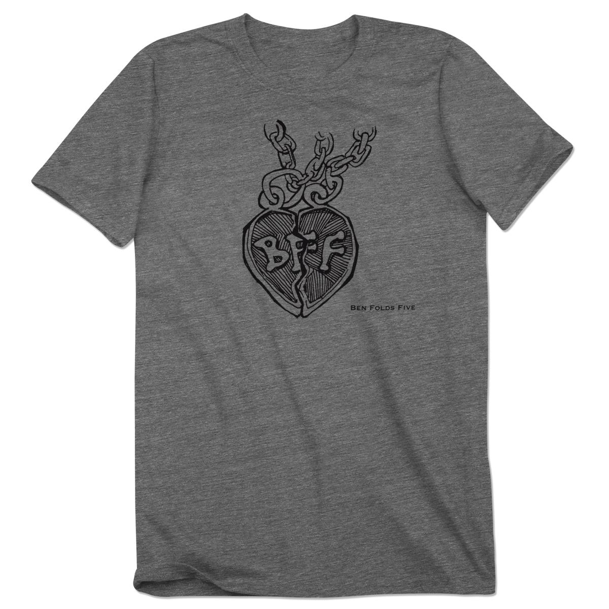 Black t shirt ben folds - Ben Folds Broken Heart T