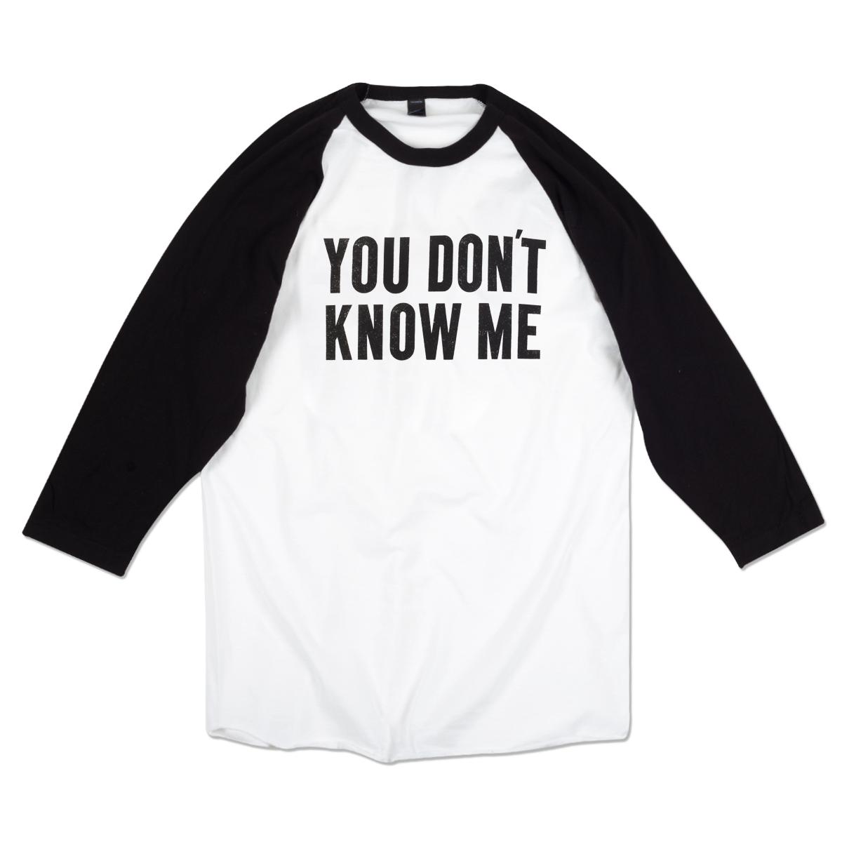 Black t shirt ben folds - Ben Folds You Don T Know Me Raglan