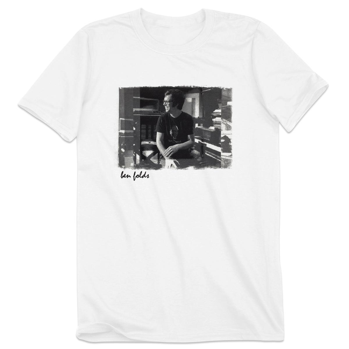 Black t shirt ben folds - Ben Folds Portrait Tee