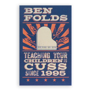 Ben Folds CUSS Magnet