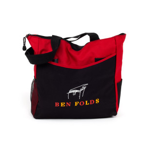 Ben Folds Zip Up Tote Bag