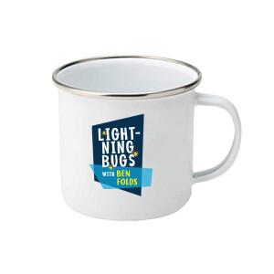Lightning Bugs 12oz Enamel Mug