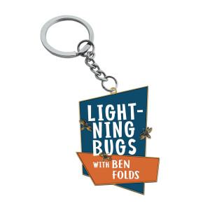 Lightning Bugs Enamel Keychain
