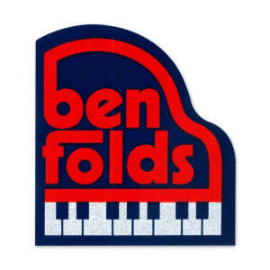 Ben Folds Piano Sticker