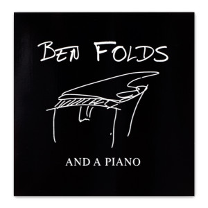 Ben Folds Piano Signature Sticker